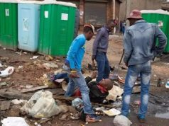 Gangsters attack a Nigerian in South Africa