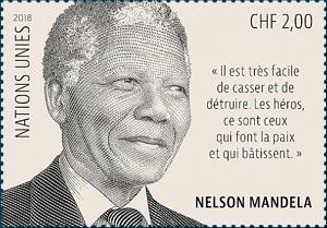 Nelson Mandela Centenary stamp