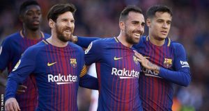 Alcacer scored 15 goals in 50 games at Barcelona, with eight assists. He has 14 caps for Spain.