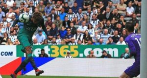 Ali's header against Newcastle