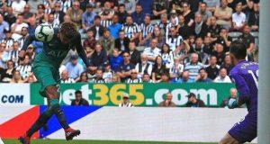 Ali's header against Newcastle