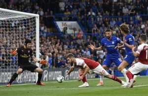 Marcos Alonso scored the winner having earlier assisted the opening goal, scored by Pedro