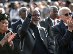 Annan attended Mandela's 100th birhday anniversary