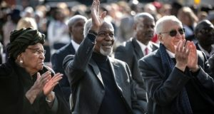 Annan attended Mandela's 100th birhday anniversary