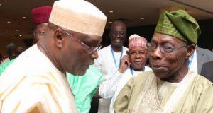 Atiku and Obasanjo