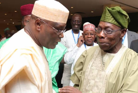 Image result for Obasanjo forgives Atiku,