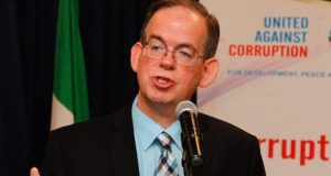 David Young, Deputy Head of U.S Embassy in Nigeria