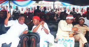 Orji Kalu, Ogbonnaya Onu, Sonni Ogbuoji, and Adams Oshiomhole