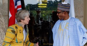 UK PM, Theresa May and President Buhari