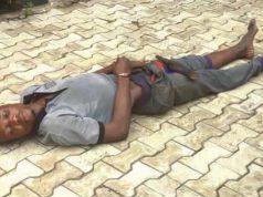 Tramadol ingested 'kidnapper' dies after 9 day sleeping