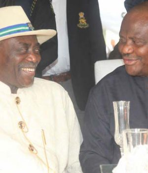 Peter Odili and Gov. Wike