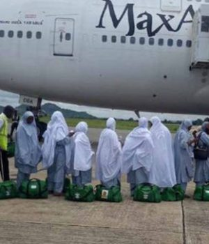 Nigerian pilgrims in Saudi Arabia