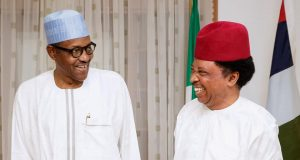 President Buhari and Sen. Sani
