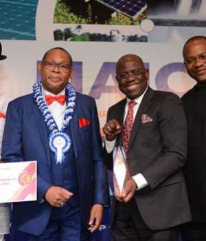 SNEPCo officials with MD Bayo Ojulari