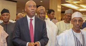 Saraki at the Not Too Young To Run movement event where he declared his presidential bid