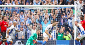 Brighton have now beaten Manchester United in three successive home league games