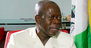 Adams Oshiomhole, APC National Chair