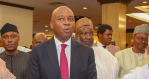 Saraki at Sheraton Hotels where he unfolded his presidential ambition