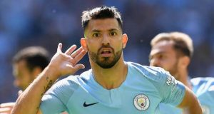 Sergio Aguero strikes twice