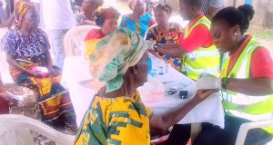 Shell's medical outreach