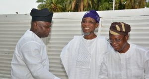 Ambode, Aregbesola and Oyetola