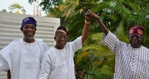 Aregbesola, Oyetola and Tinubu
