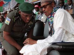 President Buhari and IGP-Idris