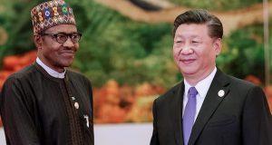 President Buhari and China's Xi Jinping
