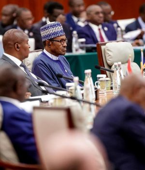 Buhari at FOCAC, Beijing, China