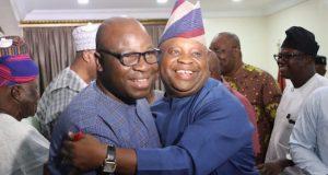 Dr. Akin Ogunbiyi and Sen. Adetunji Adeleke