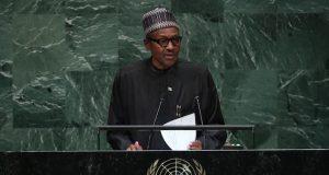 President Buhari speaks at UNGA