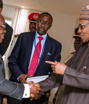President Nana Akufo-Addo of Ghana and President Muhammadu Buhari