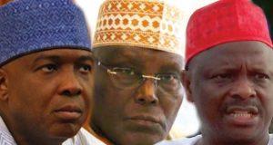 Saraki, Atiku and Kwakwanso