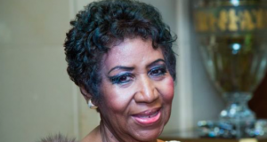 Aretha Frankling pictured in 2015