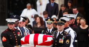 Remains of Sen. John McCain