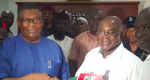 Sen. David Mark picks PDP Presidential nomination paper