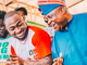 Sen. Ademola Adeleke displaying his dancing steps