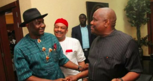 Sen. Abe and Gov. Nyesom Wike