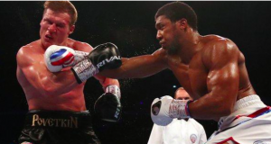Anthony Joshua recorded his 22nd career win against Alexander Povetkin