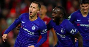 Eden Hazard scored an 85th-minute winner