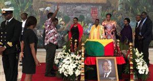 Funeral rites for late UN Sec. Gen., Kofi Annan