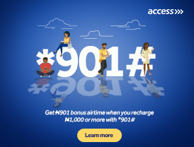 Access Bank *901#