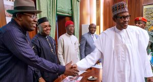 Buhari with S-S Govs