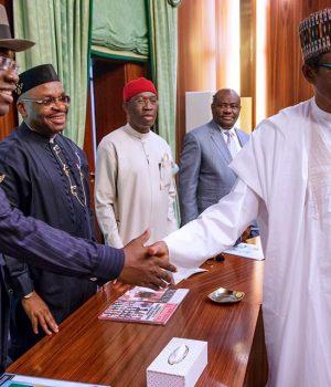 Buhari with S-S Govs