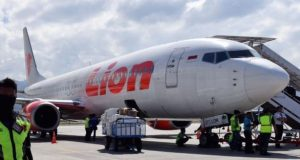 The Lion Air flight that crashed
