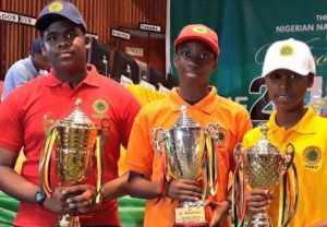 Winners of the NNPC National Science Quiz Competition
