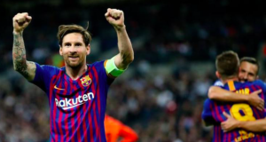 Messi inspires Barcelona against Tottenham