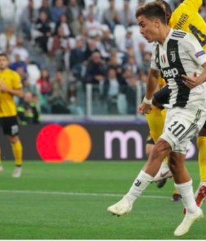 Paulo Dybala nets three goals for Juventus