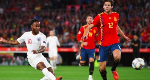 Raheem Sterling scored his first goals for England since October 2015 vs Estonia - 1102 days ago.