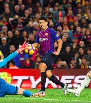 Suarez has scored nine goals against Real Madrid